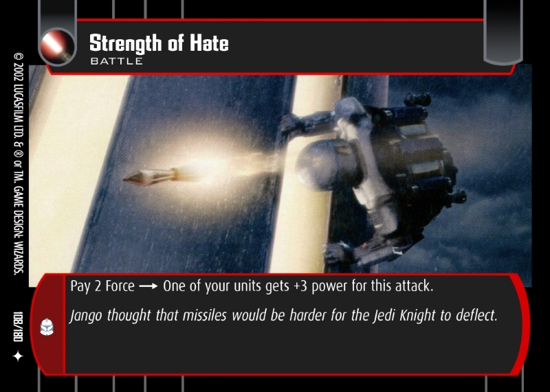 Strength of Hate