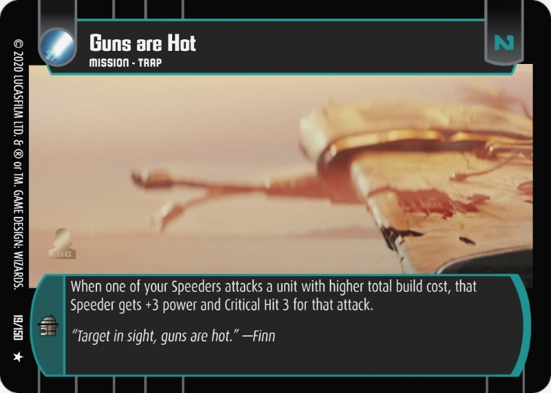 Guns are Hot