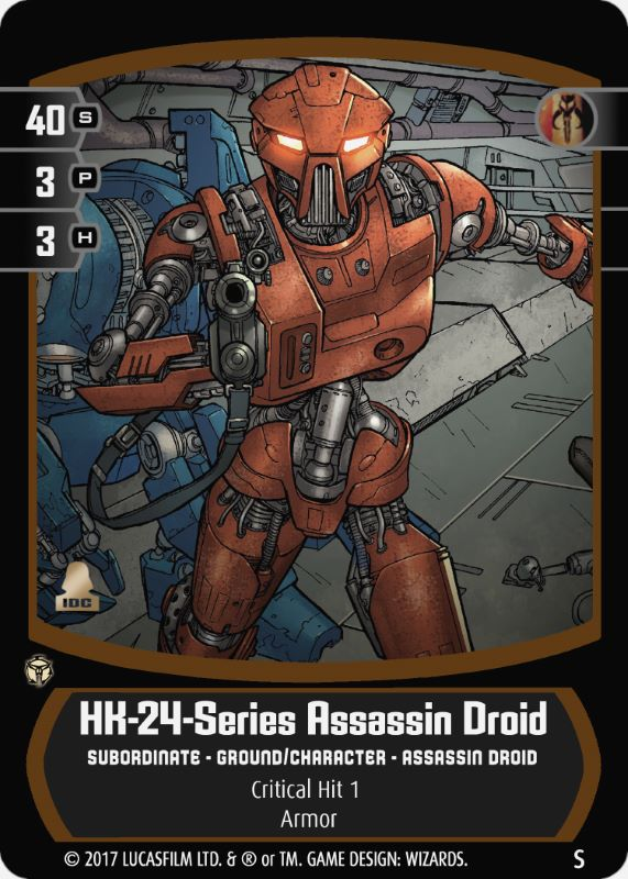 HK-24-Series Assassin Droid