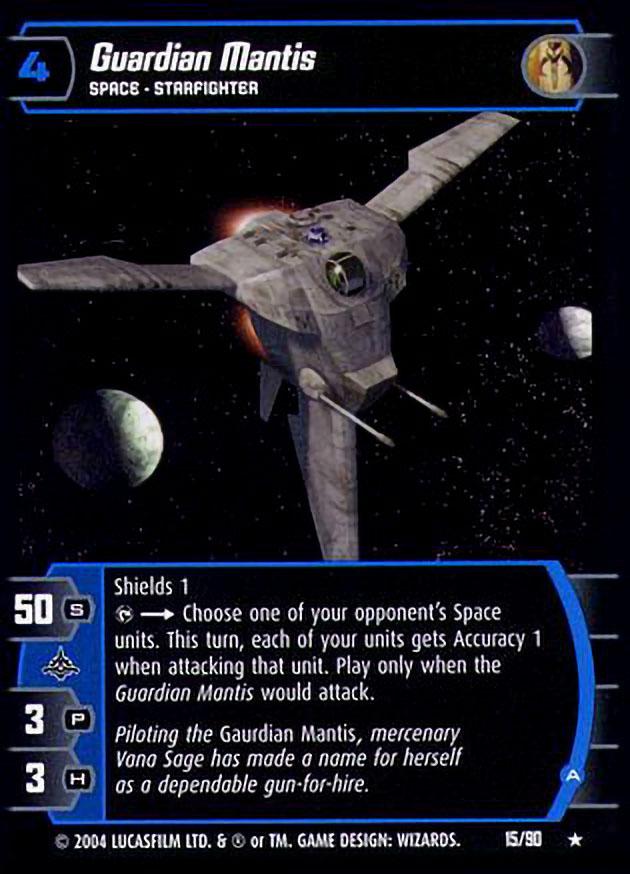 A Star Wars TCG TPM Guardian Mantis