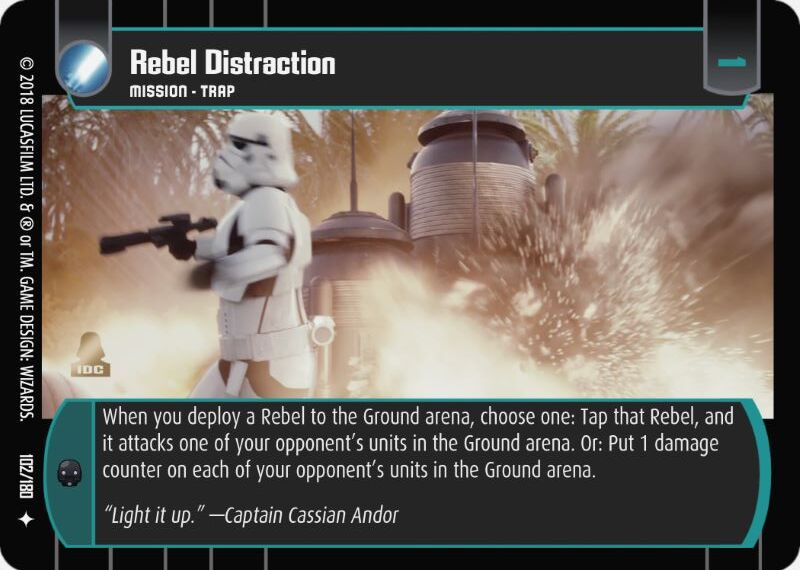 Rebel Distraction