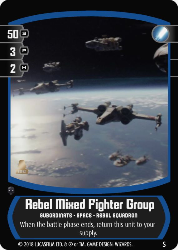 Rebel Mixed Fighter Group