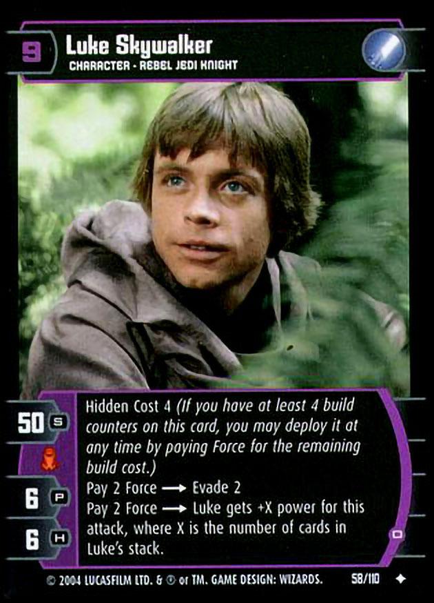 Star wars TRADING CARD GAME ROTJ Endor Regiment