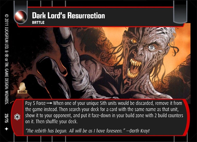 Dark Lord's Resurrection