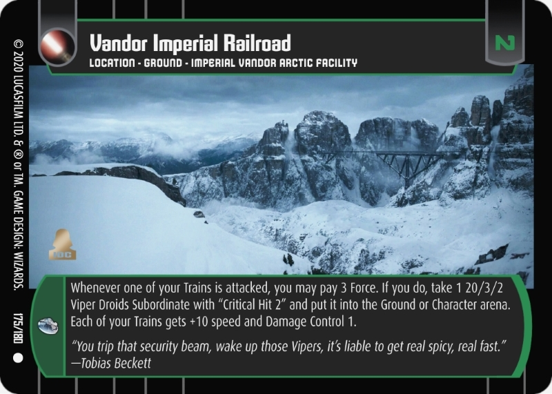 Vandor Imperial Railroad