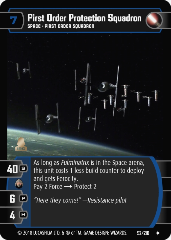 First Order Protection Squadron