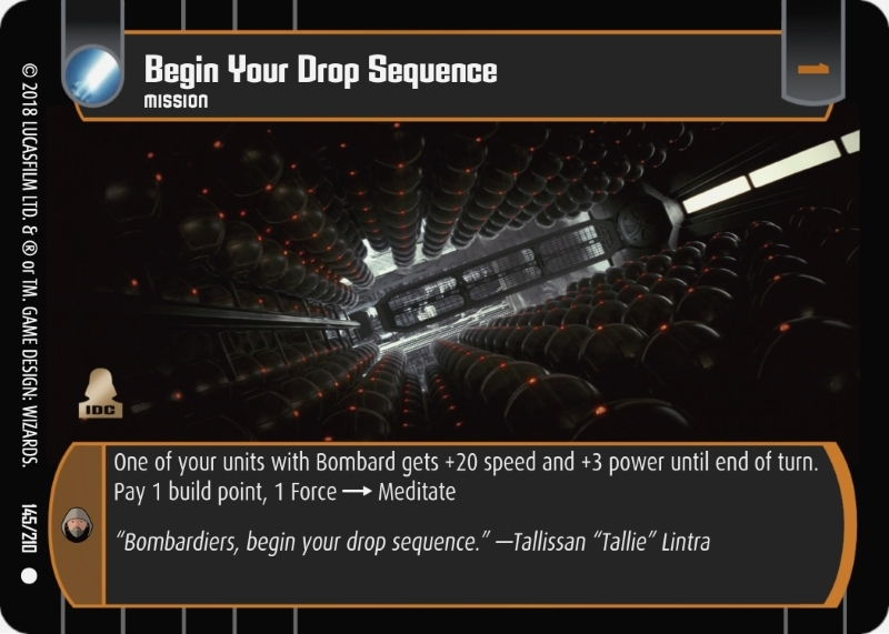 Begin Your Drop Sequence