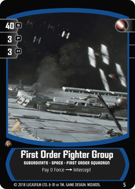 First Order Fighter Group