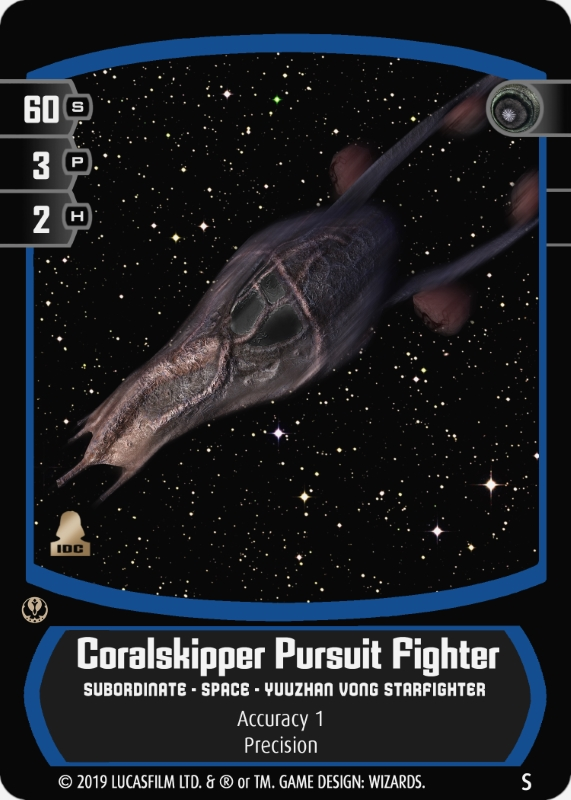 Coralskipper Pursuit Fighter